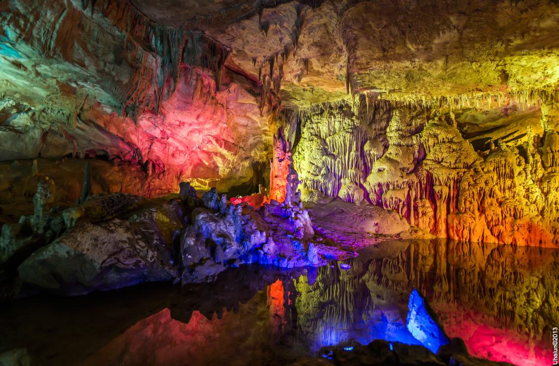 Картинки по запросу пещера прометей в грузии
